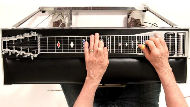 ZI. How to Play Augmented Chords on a Pedal Steel Guitar Promo Image