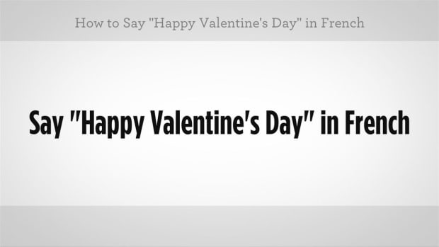 """ZI. How to Say """"Happy Valentine's Day"""" in French Promo Image"""