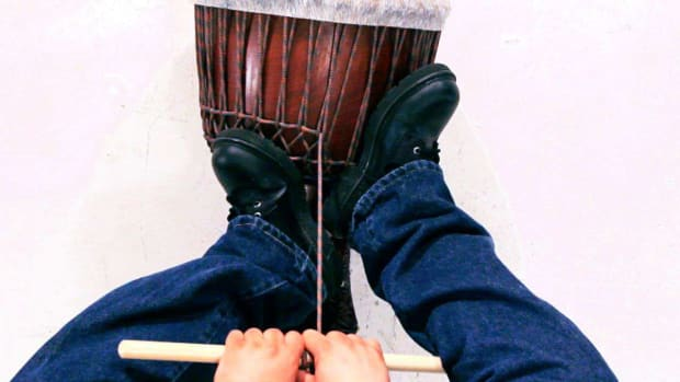 T. How to Tune a Djembe Promo Image