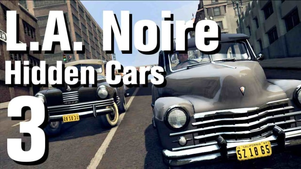 "C. L.A. Noire Walkthrough Hidden Cars 03: ""Cisilalia Coupe"" Promo Image"