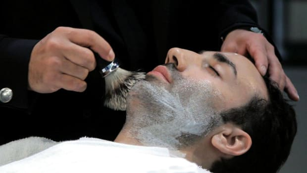 H. How to Use a Shaving Brush Promo Image
