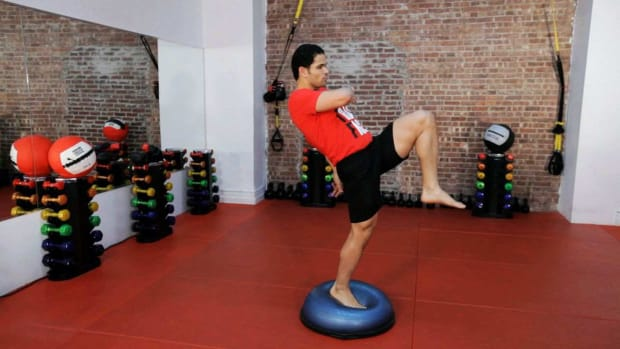 ZF. How to Balance Train for Kickboxing Promo Image