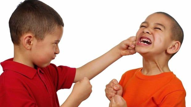 O. How to Handle Violent Behavior in Children Promo Image