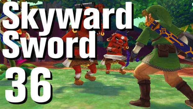 ZJ. Zelda: Skyward Sword Walkthrough Part 36 - Eldin Volcano Temple Keys Promo Image