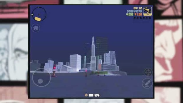 ZQ. GTA3 iOS Walkthrough Part 43 - S.A.M Promo Image