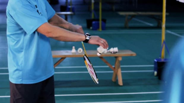 N. How to Flick Serve in Badminton Promo Image