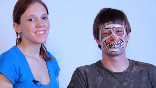 ZM. How to Paint a Mummy with Face Paint Promo Image