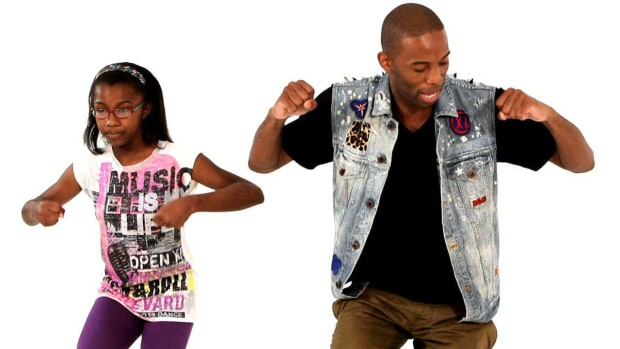 H. How to Do the Funky Walk Hip-Hop Dance Move for Kids Promo Image