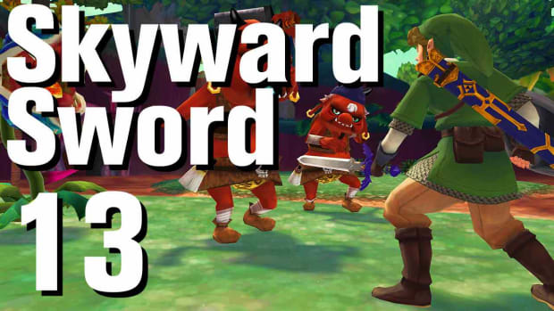 M. Zelda: Skyward Sword Walkthrough Part 13 - Faron Woods Promo Image