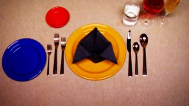 F. How to Set a Classic Dinner Table Promo Image