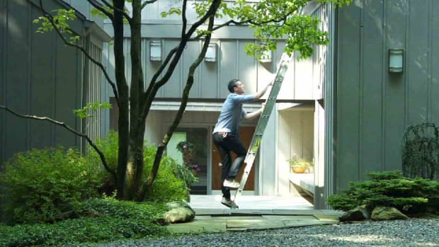 H. Quick Tips: How to Stay Safe on an Extension Ladder Promo Image