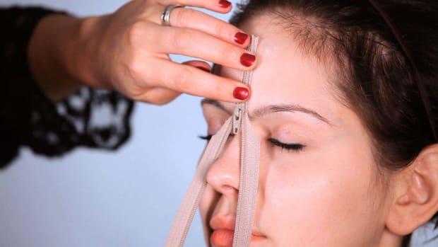 ZA. How to Do a Special FX Zipper Face Using Spirit Gum Promo Image