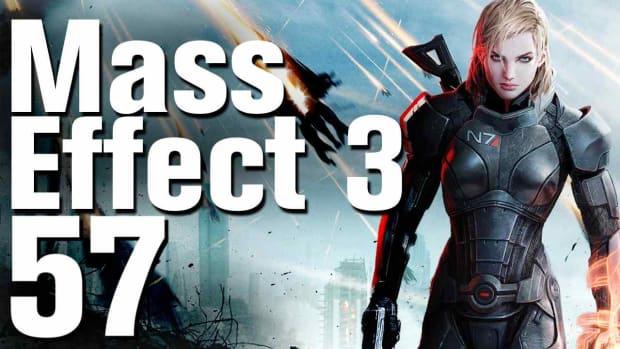 ZZE. Mass Effect 3 Walkthrough Part 57 - Meet with the Quarian Fleet Promo Image