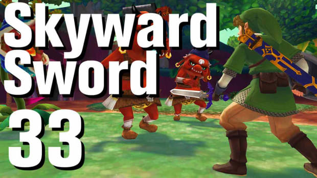 ZG. Zelda: Skyward Sword Walkthrough Part 33 - Eldin Volcano Promo Image
