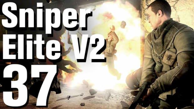 ZK. Sniper Elite V2 Ending - Part 37 - Brandenburg Gate Promo Image