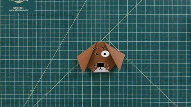 R. How to Make an Origami Dog Promo Image