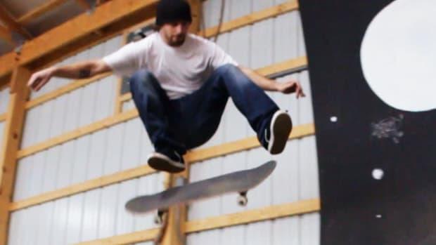 U. How to Do a Kickflip 50-50 on a Skateboard Promo Image