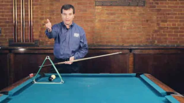"ZZP. How to Do the ""Jump through the Rack"" Pool Trick Shot Promo Image"