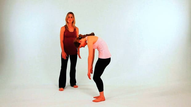 M. How to Do a Wall Round Over in Pilates Promo Image