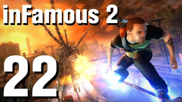 V. inFamous 2 Walkthrough Part 22: Transferring Power Promo Image