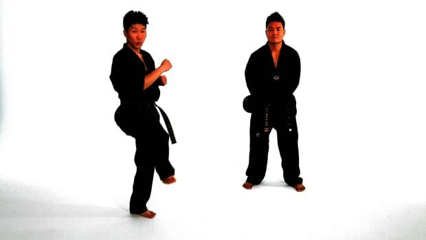 O. How to Do a Tornado Axe Kick in Taekwondo Promo Image
