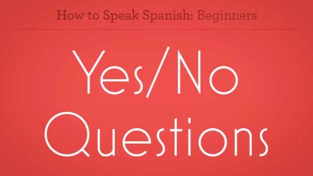 ZZF. How to Form Yes or No Questions in Spanish Promo Image