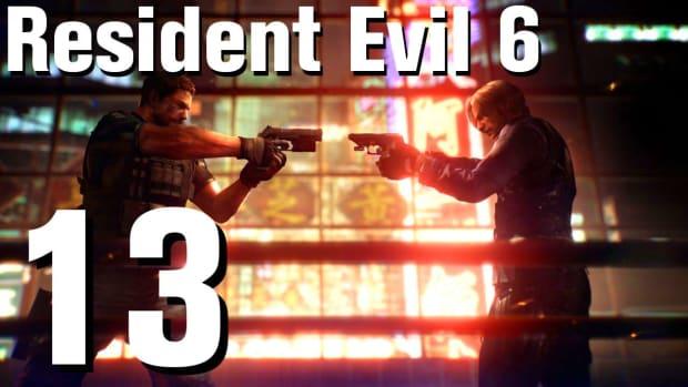 M. Resident Evil 6 Walkthrough Part 13 - Chapter 1 Promo Image
