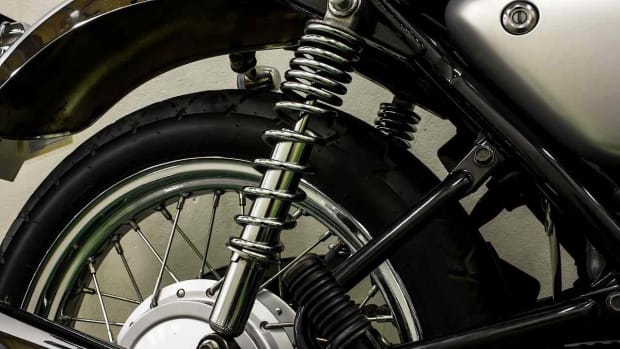 H. Motorcycle Suspension Basics Promo Image
