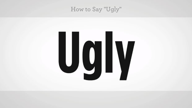 "ZZU. How to Say ""Ugly"" in Mandarin Chinese Promo Image"