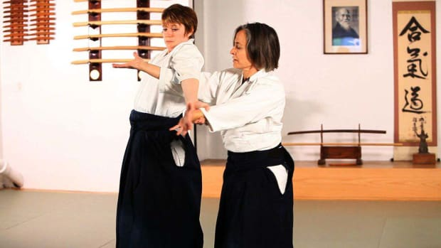 N. How to Do Udekime Nage in Aikido Promo Image