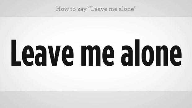"ZZZG. How to Say ""Leave Me Alone"" in Mandarin Chinese Promo Image"