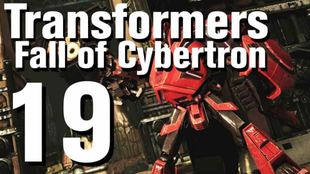 S. Transformers Fall of Cybertron Walkthrough Part 19 - Chapter 6 Promo Image