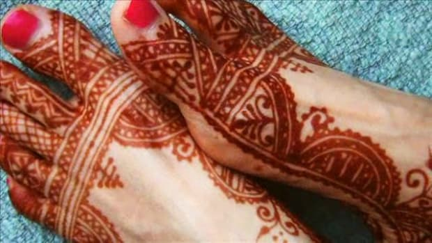 R. Henna vs. Mehndi Promo Image