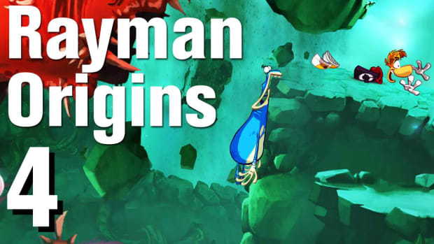 D. Rayman Origins Walkthrough 1-4: Go With the Flow Promo Image