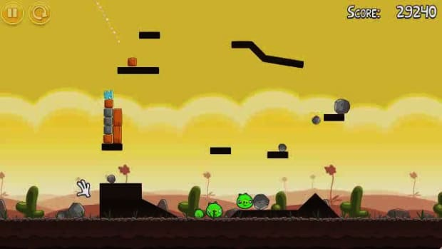 A. Angry Birds Level 3-1 Walkthrough Promo Image