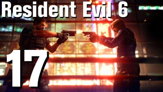 Q. Resident Evil 6 Walkthrough Part 17 - Chapter 2 Promo Image