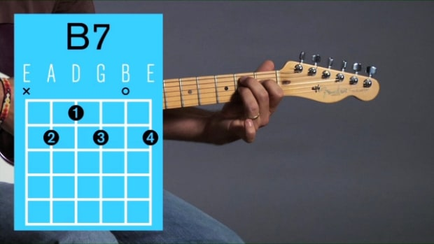 ZZZZ. How to Play a B7 Open Chord on Guitar Promo Image