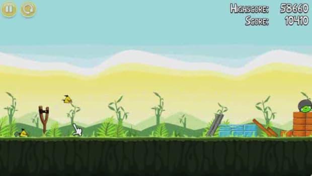 A. Angry Birds Level 2-1 Walkthrough Promo Image