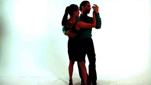 ZJ. How to Dance Merengue with Ernesto Palma & Crystal Rodriguez Promo Image