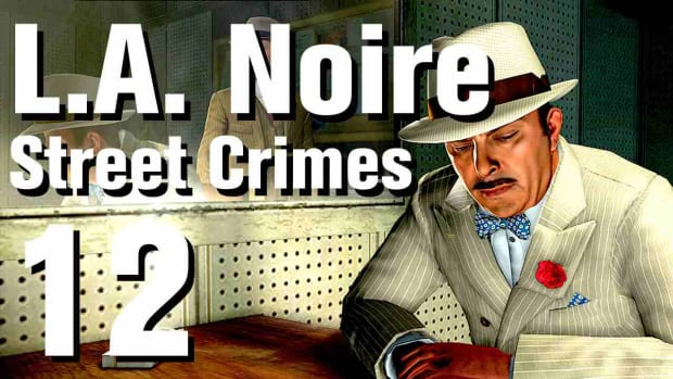 "L. L.A. Noire Walkthrough Street Crimes 12: ""Hung Out To Dry"" Promo Image"