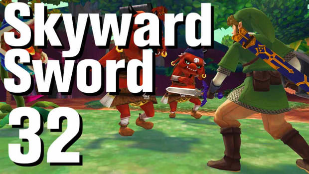 ZF. Zelda: Skyward Sword Walkthrough Part 32 - Eldin Volcano Promo Image