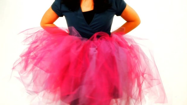 N. How to Cut the Tulle for a No-Sew Ribbon & Tulle Tutu Promo Image