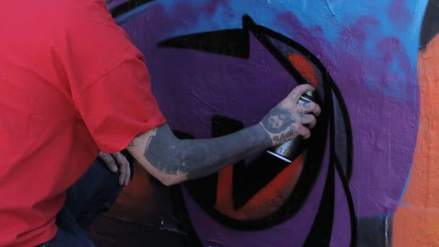 H. 4 Tips on Creating Fine Lines in Graffiti Promo Image