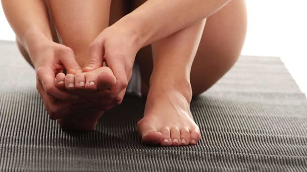 F. How to Get Rid of Toe Cramps | Foot Care Promo Image