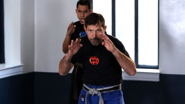 C. How to Do a Krav Maga Defense Kick Forward Promo Image