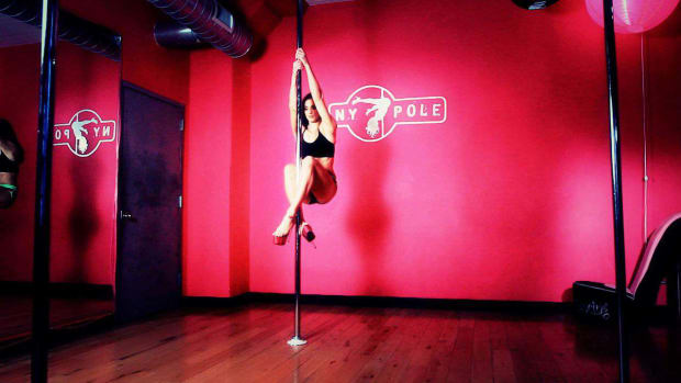 I. How to Do a Pole Dancing Climb Promo Image