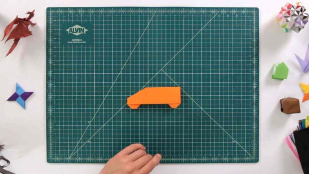 ZF. How to Make an Origami Car Promo Image