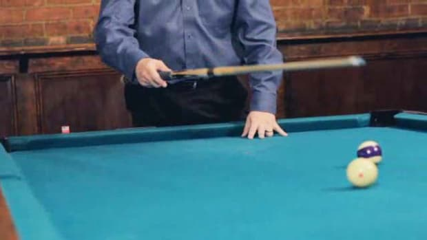 G. How to Stop the Cue Ball for Pool Trick Shots Promo Image