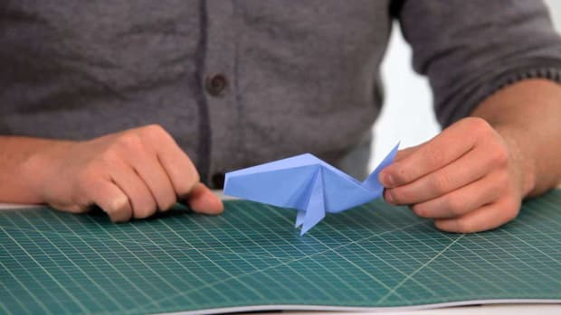 Y. How to Make an Origami Fish Promo Image