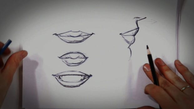 B. How to Draw Lips Promo Image